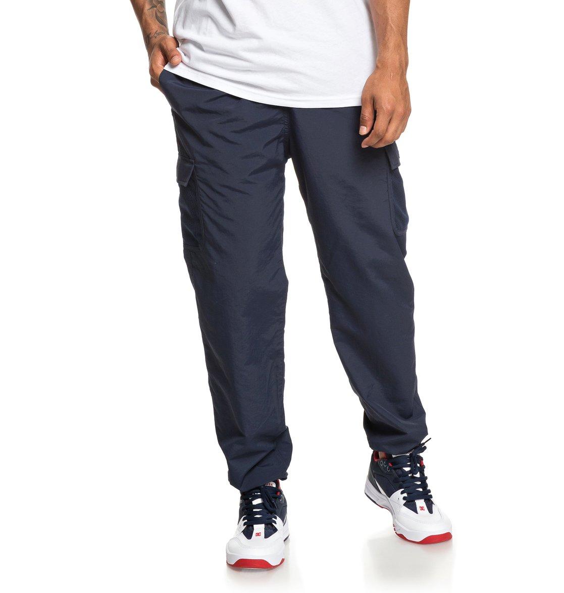 0 Conbren Bleu DC léger en Shoes pour Homme Pantalon nylon EDYNP03149 rTPdrq