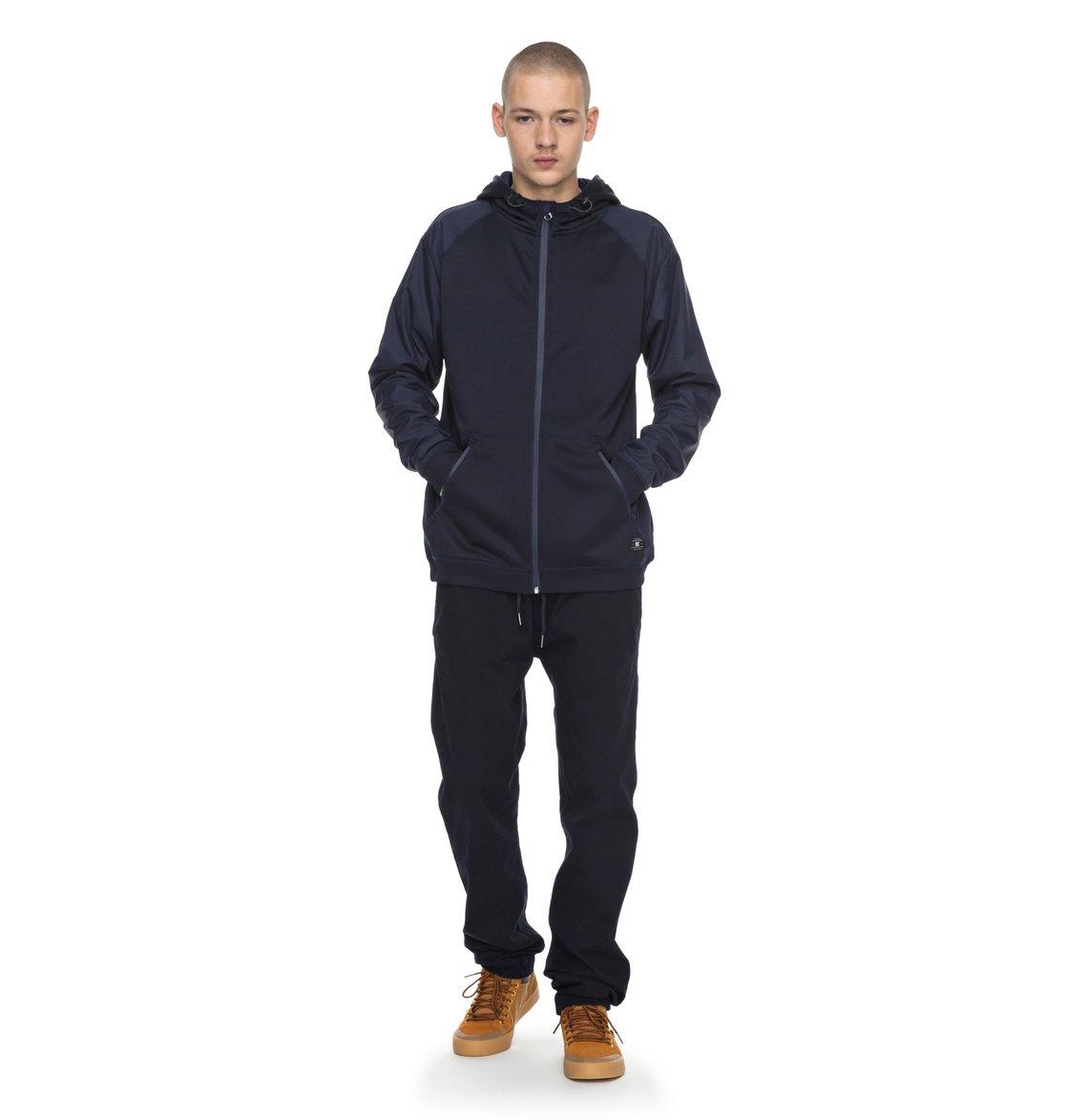 DC-Shoes-Wentley-Zip-Up-Polar-Fleece-Forro-polar-con-cremallera-Hombre