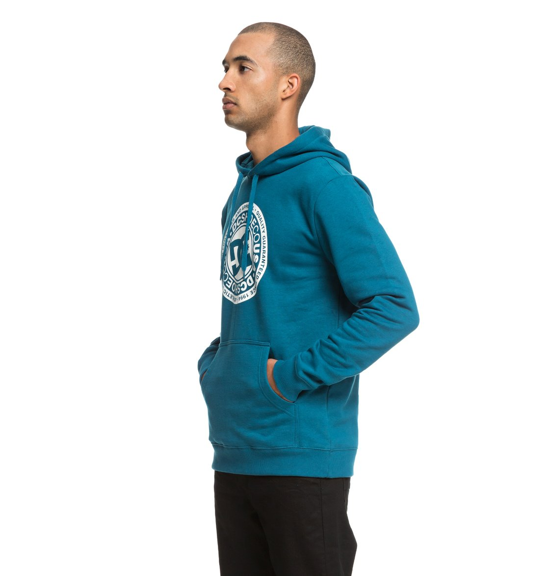 2570b87ab5631 1 Circle Star - Sweat à capuche pour Homme Bleu EDYSF03166 DC Shoes