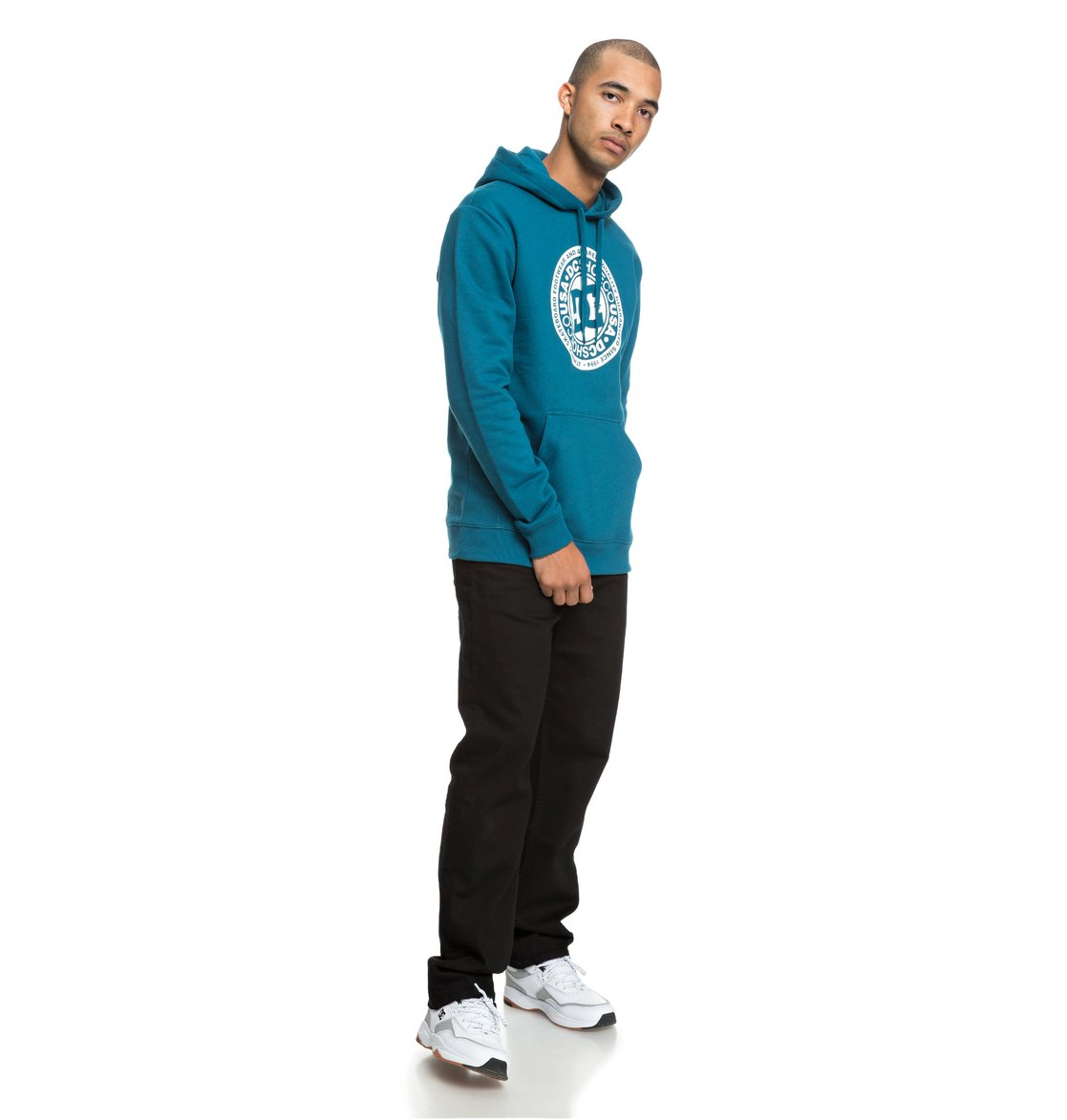 ff26b8c2681b8 3 Circle Star - Sweat à capuche pour Homme Bleu EDYSF03166 DC Shoes