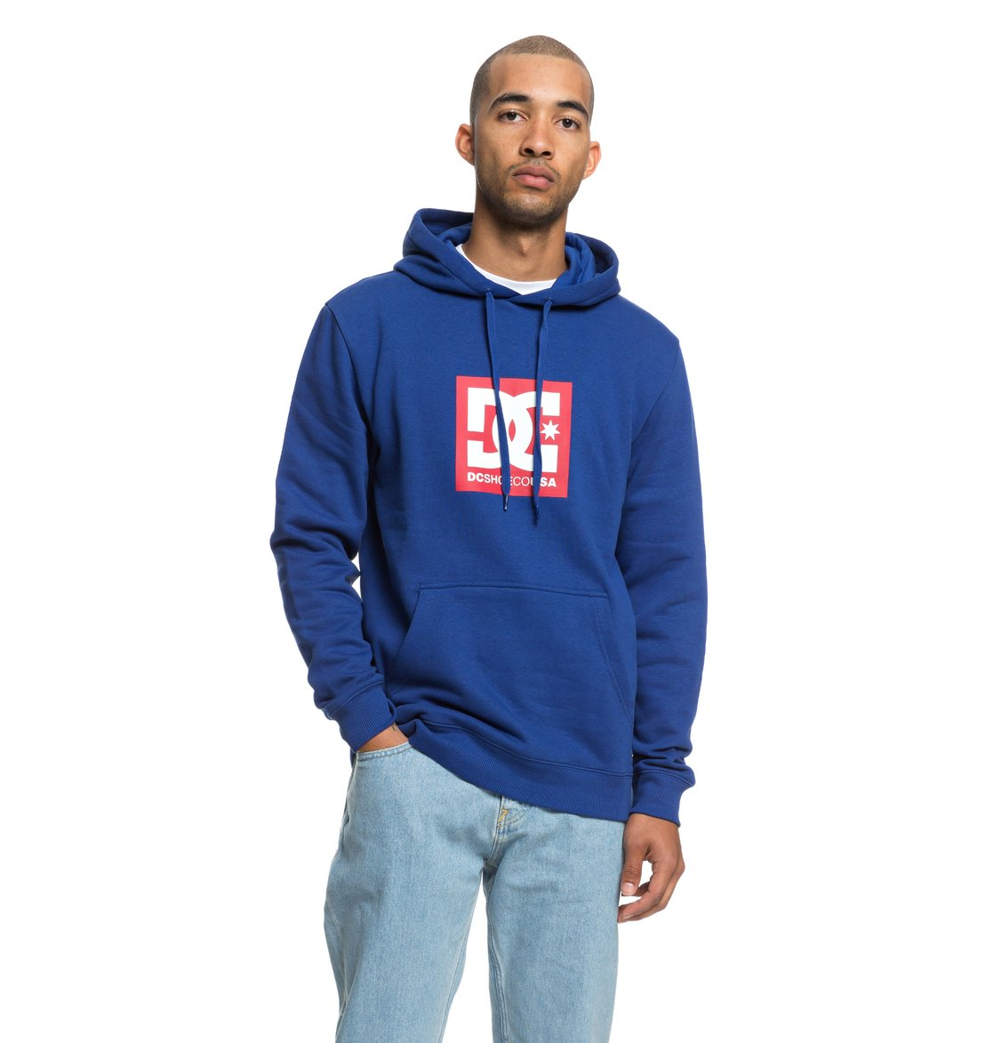688f485574b57 0 Square Star - Sweat à capuche pour Homme Bleu EDYSF03167 DC Shoes