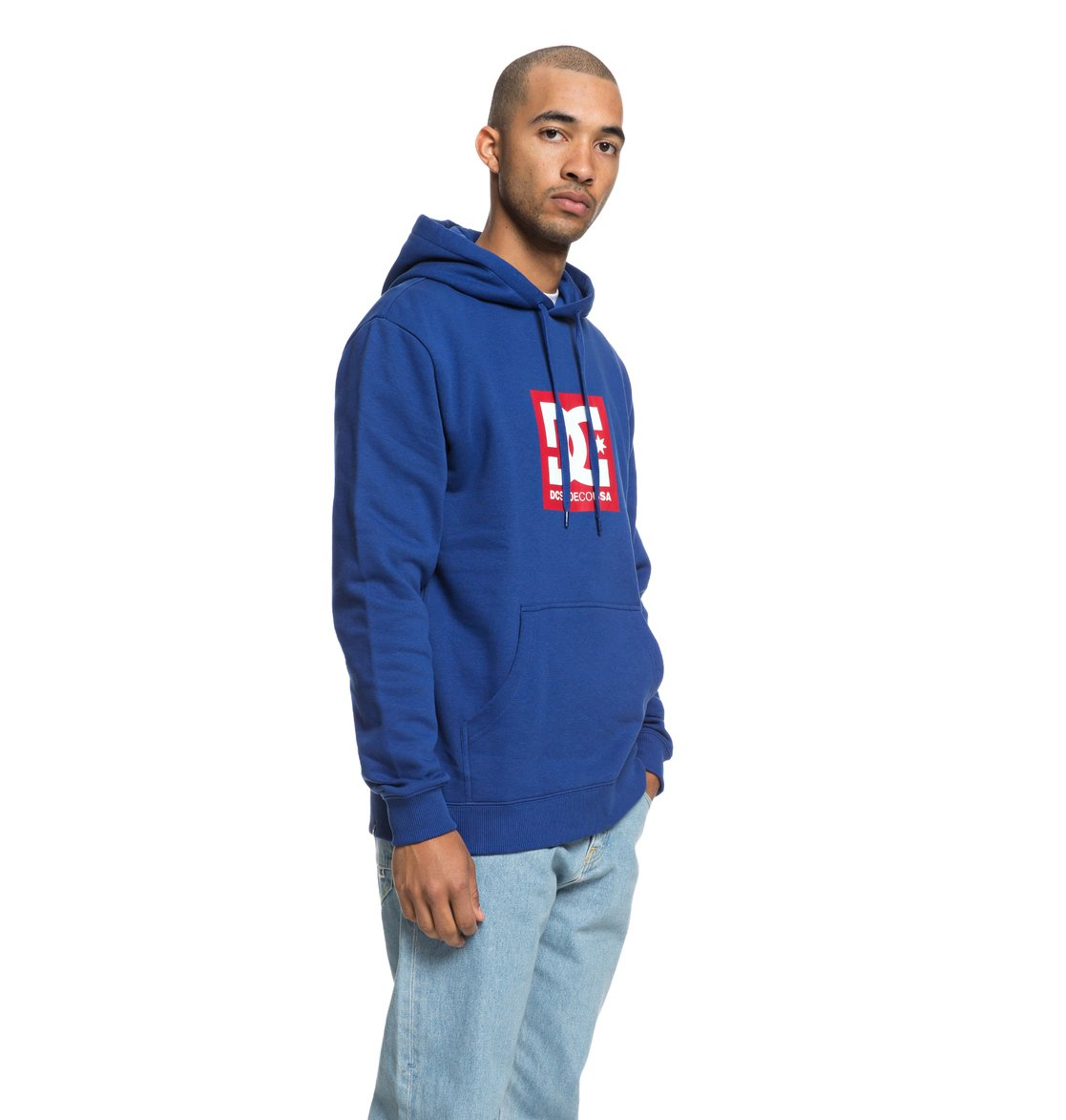 4d445c5910637 1 Square Star - Sweat à capuche pour Homme Bleu EDYSF03167 DC Shoes
