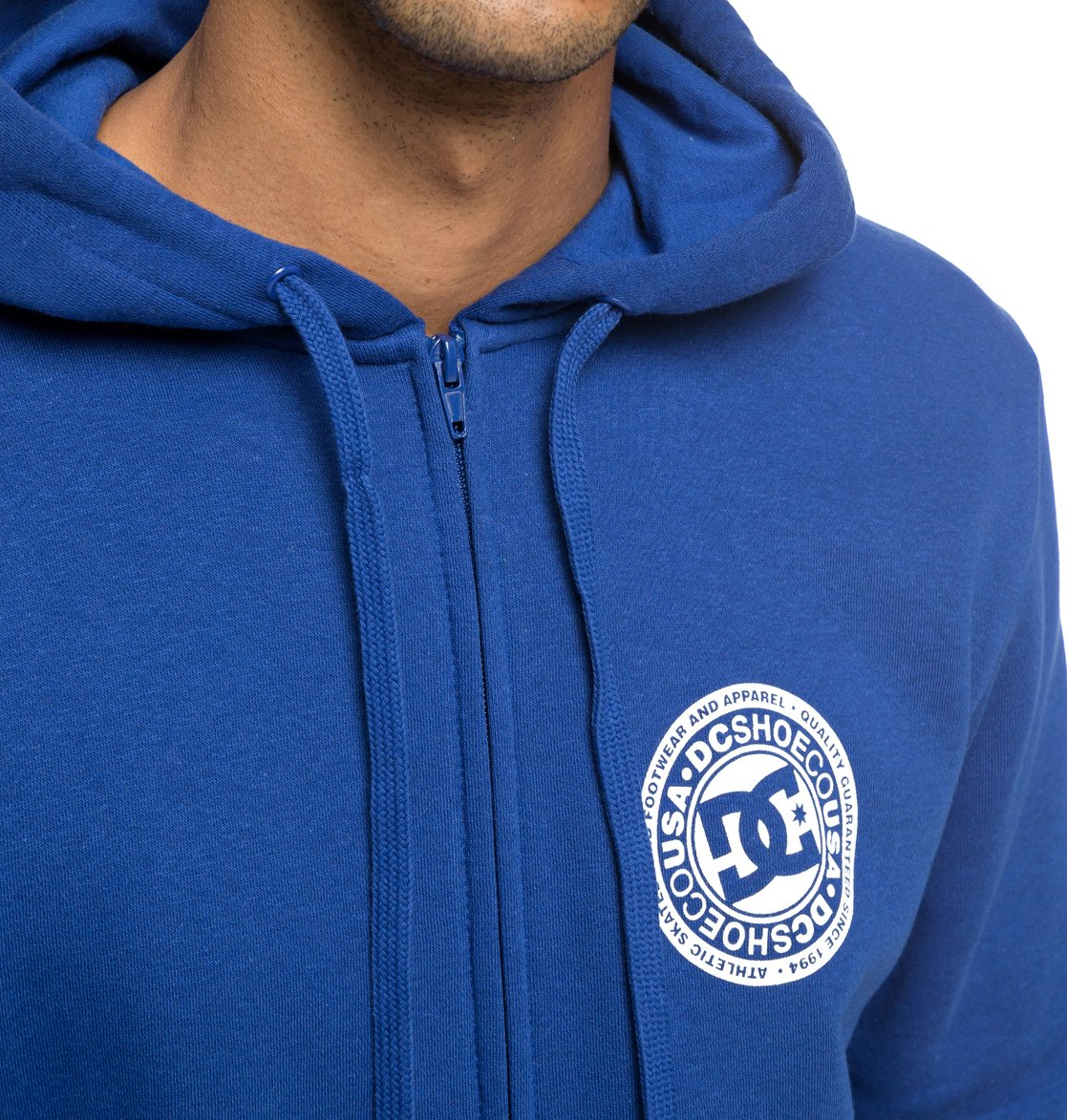 c1b7568a9499d 2 Circle Star - Sweat à capuche zippé pour Homme Bleu EDYSF03174 DC Shoes