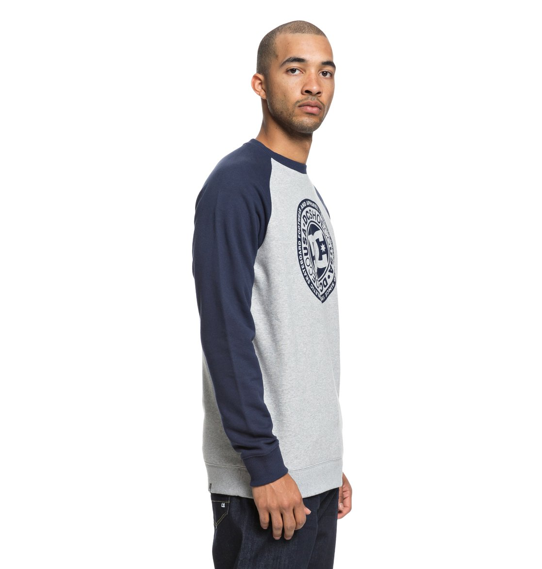 865ccb670558c 1 Circle Star - Sweatshirt pour Homme Bleu EDYSF03177 DC Shoes