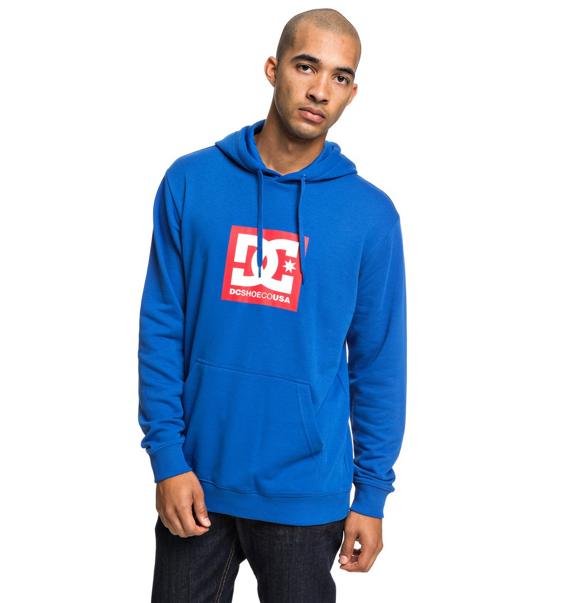 b99e68e272e9 1 Square Star - Hoodie for Men Blue EDYSF03184 DC Shoes