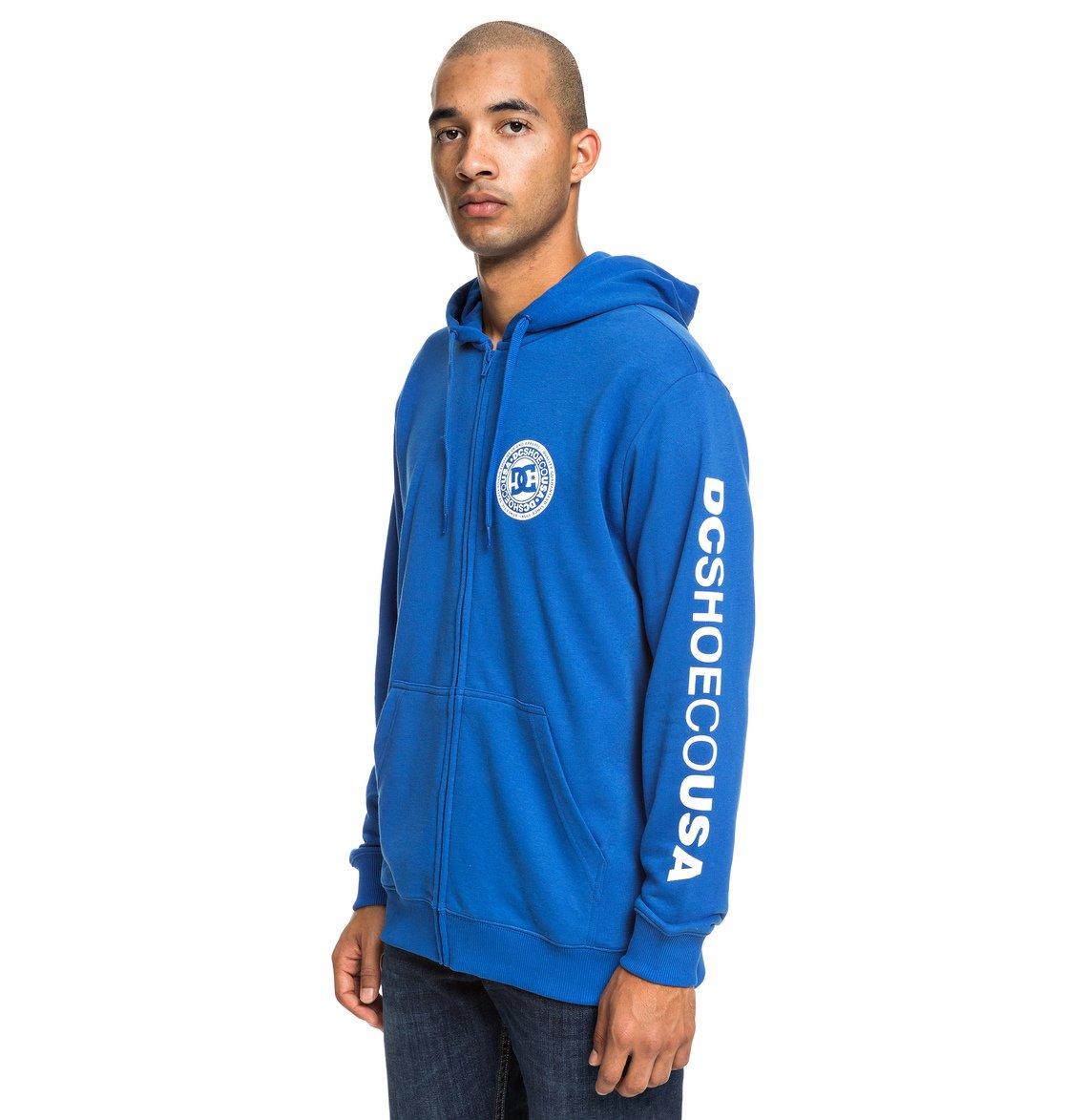 5a4700a5d46 1 Circle Star - Sweat à capuche zippé pour Homme Bleu EDYSF03194 DC Shoes