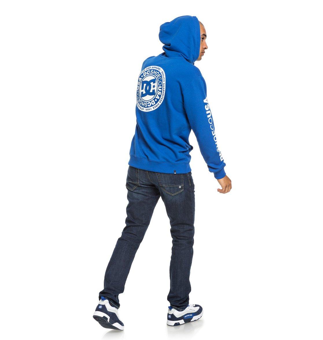 6fb2d3effc2 4 Circle Star - Sweat à capuche zippé pour Homme Bleu EDYSF03194 DC Shoes