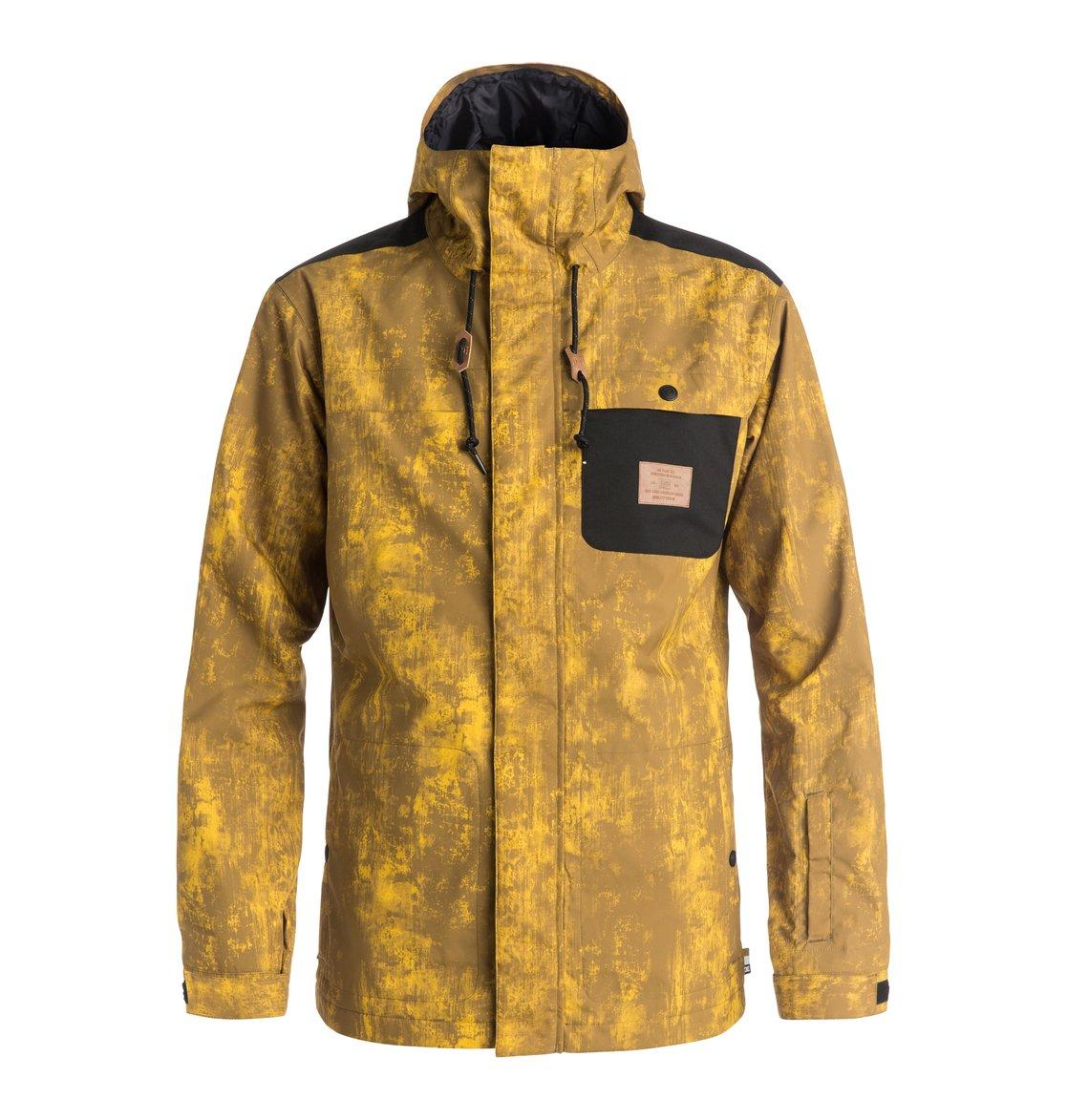 Men S Delinquent Snow Jacket 888327541563 Dc Shoes