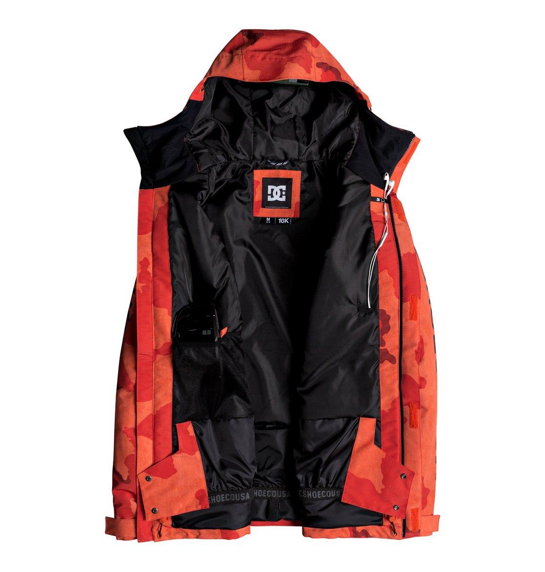 4 Ripley - Giacca da snowboard da Uomo Orange EDYTJ03072 DC Shoes 9a23bf29f45
