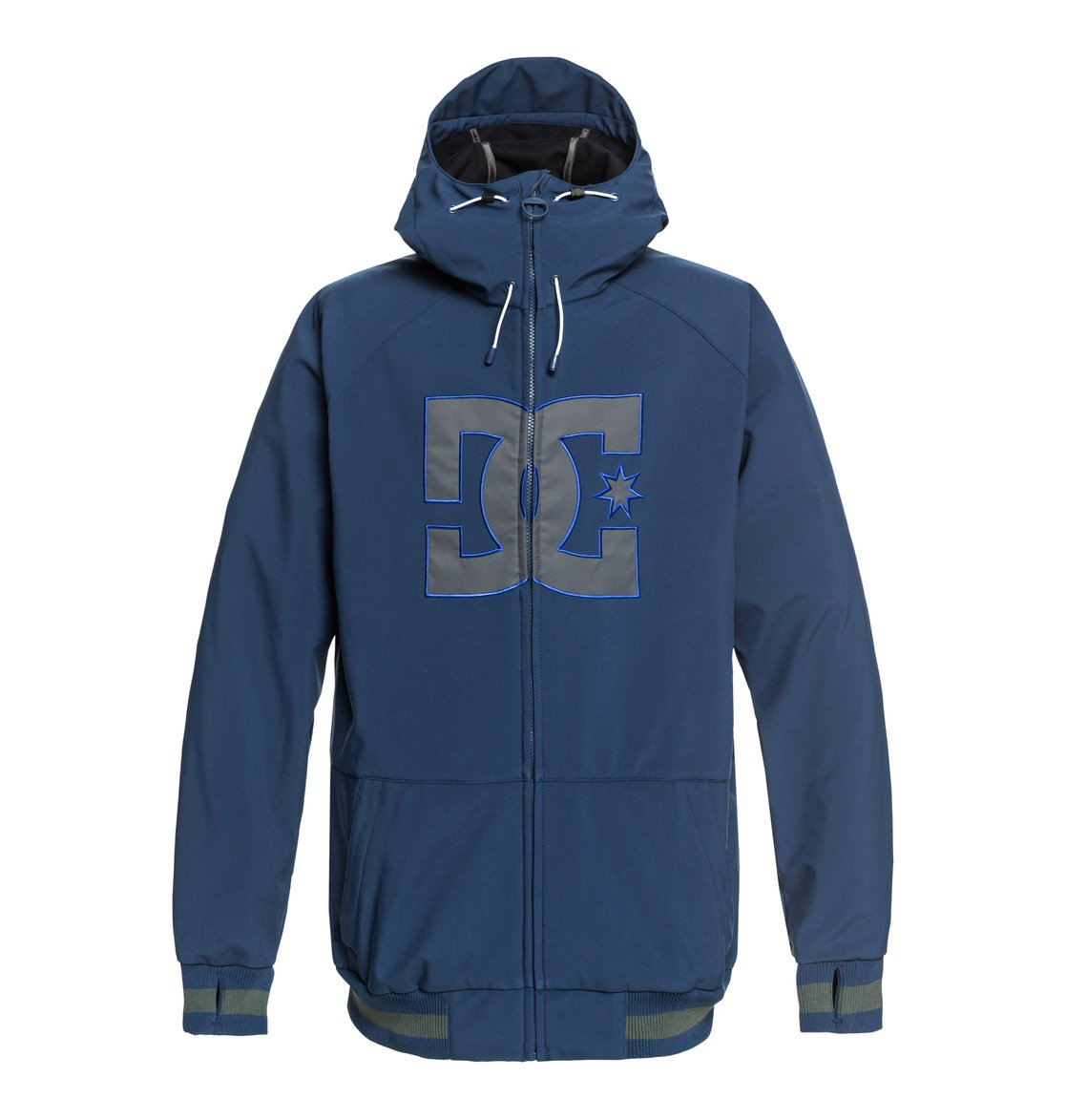 0 Original Spectrum - Softshell Bomber Snow Jacket for Men Blue EDYTJ03082 DC  Shoes 27f8151efc1f