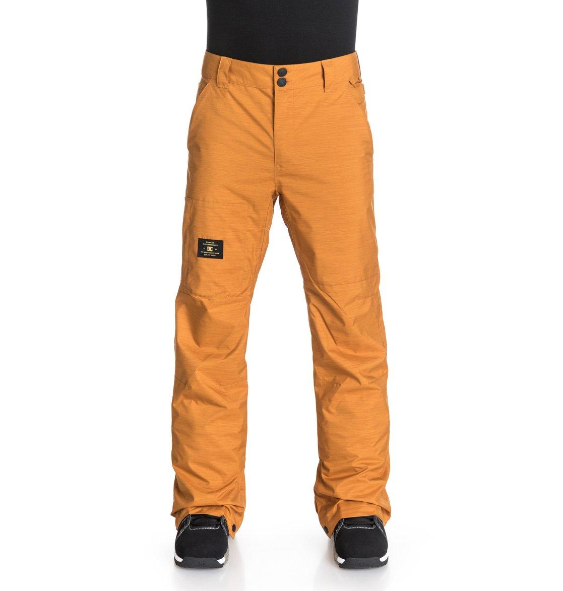 Dc Shoes Snowboard Pants Size Chart