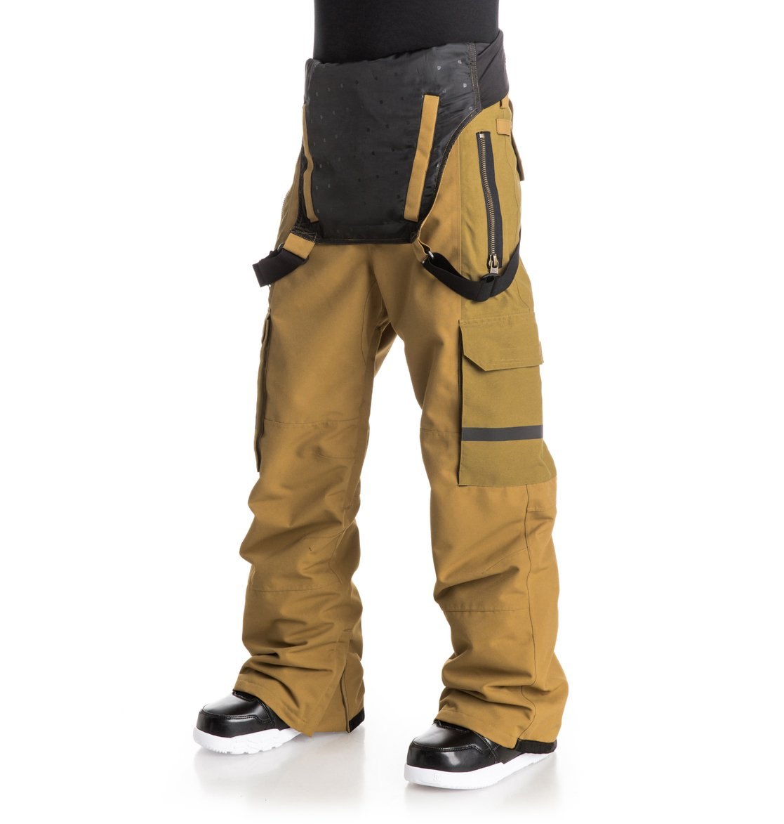 2 Men s Platoon Bib Snow Pants EDYTP03010 DC Shoes 1caaa8a23