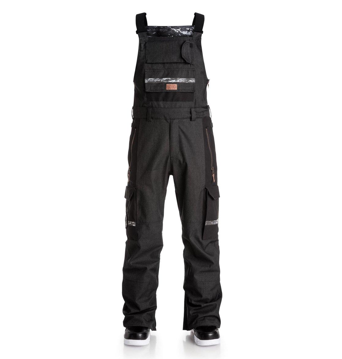0 Men s Platoon SPT Bib Snow Pants EDYTP03014 DC Shoes 7ecc6c555
