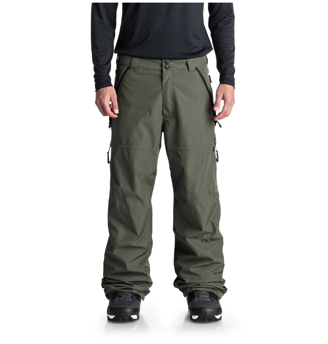 DC 0 Pantalon Shoes de pour Nomad Homme snow EDYTP03032 Vert rrfw8q
