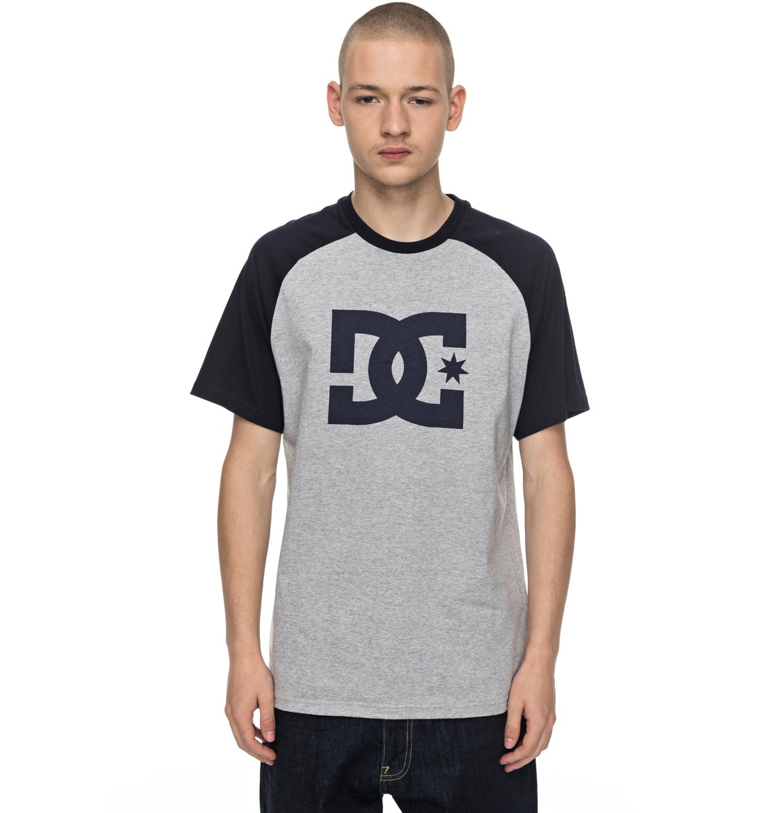 8646fc7d3c8b 0 Star Raglan - T-Shirt for Men EDYZT03707 DC Shoes