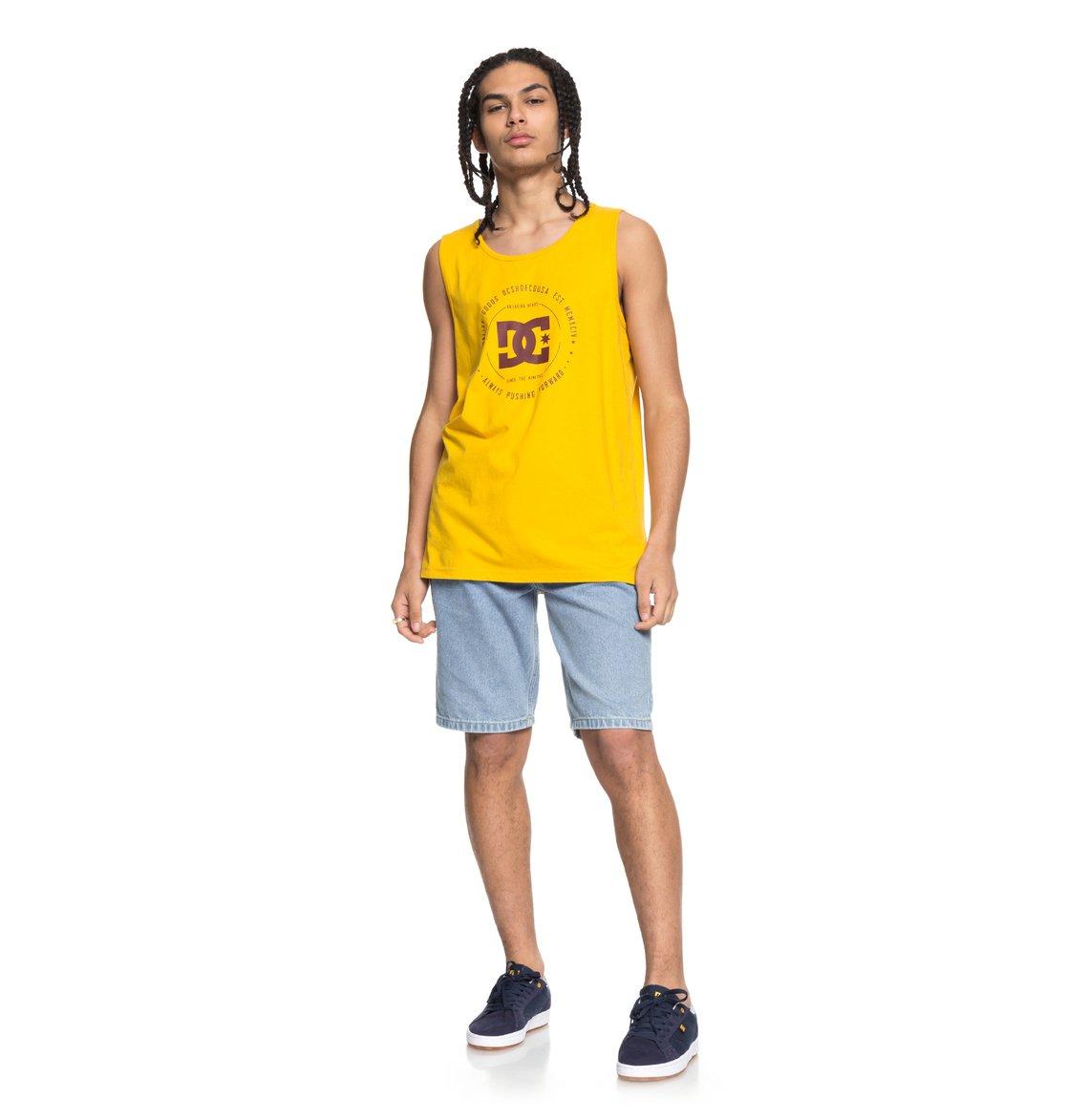 DC-Shoes-Rebuilt-Camiseta-sin-Mangas-para-Hombre-EDYZT03741
