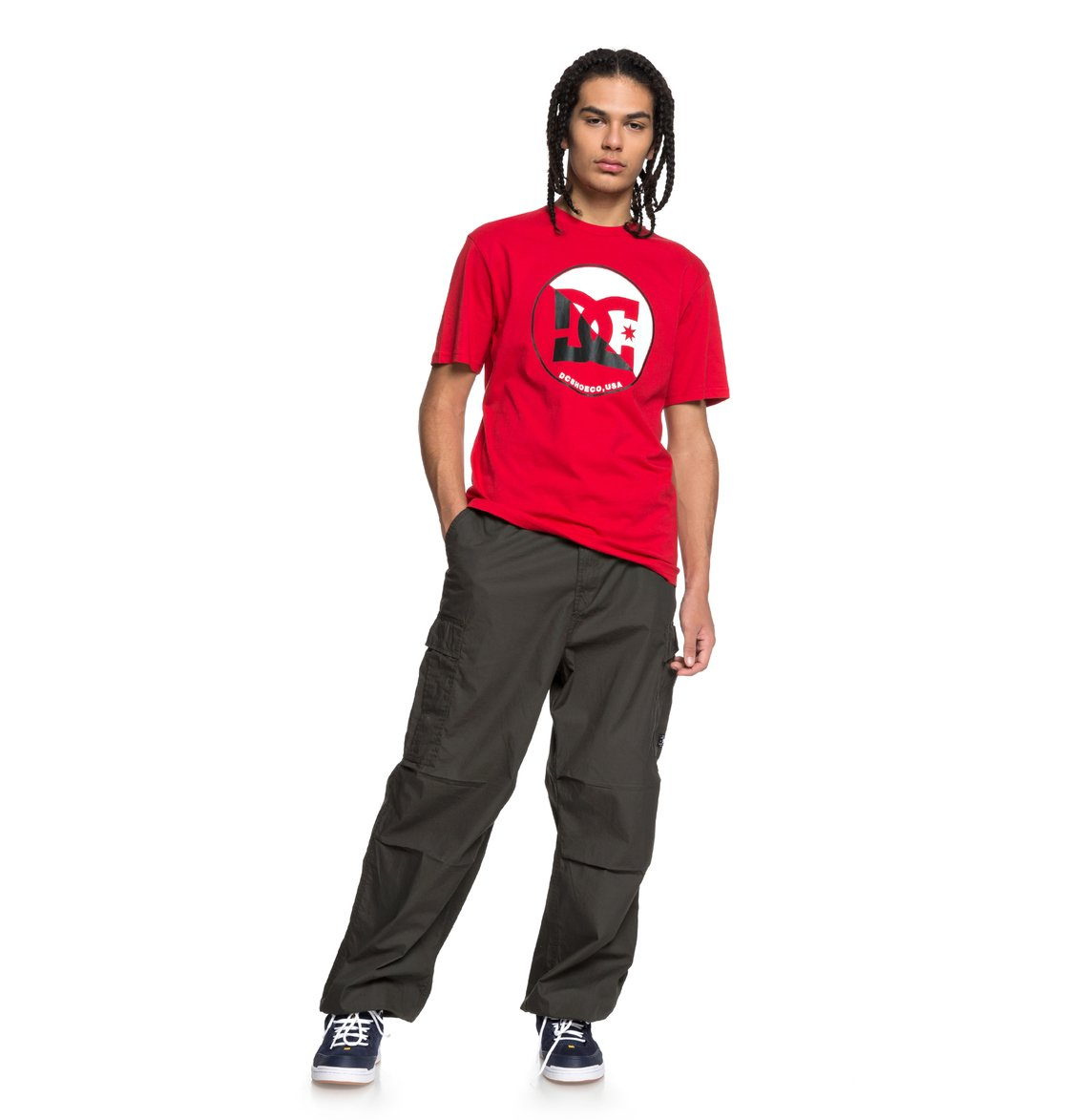 DC-Shoes-Up-Shore-Camiseta-Hombre-XS