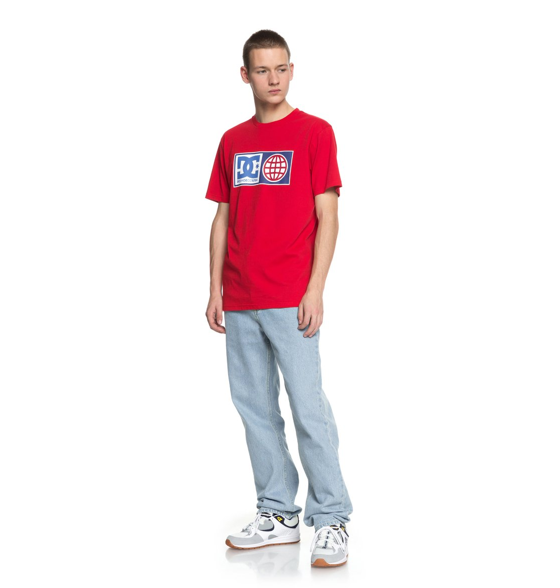 DC-Shoes-Global-Salute-T-Shirt-col-rond-pour-Homme-EDYZT03758