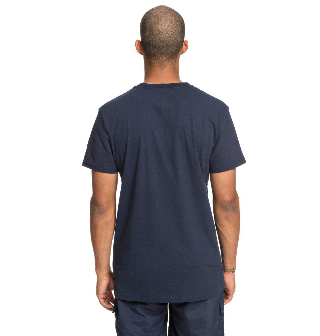 3 Slant - T-Shirt for Men Blue EDYZT03936 DC Shoes 81755938ab