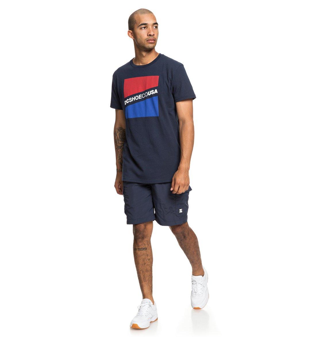 2 Slant - T-Shirt for Men Blue EDYZT03936 DC Shoes 66ad943cc9