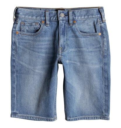 Washed Straight - Denim Shorts  EDBDS03009