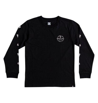 Worldwide Flag - Long Sleeve T-Shirt for Boys 8-16  EDBZT03303