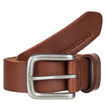 Sharp Point - Leather Belt for Men  EDYAA03121
