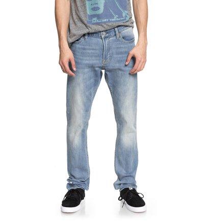 Worker Light Indigo Blue - Slim Fit Jeans for Men  EDYDP03363