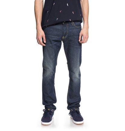 Worker Medium Stone - Slim Fit Jeans for Men  EDYDP03364