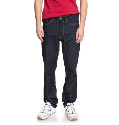 Worker Indigo Rinse - Straight Fit Jeans for Men  EDYDP03370