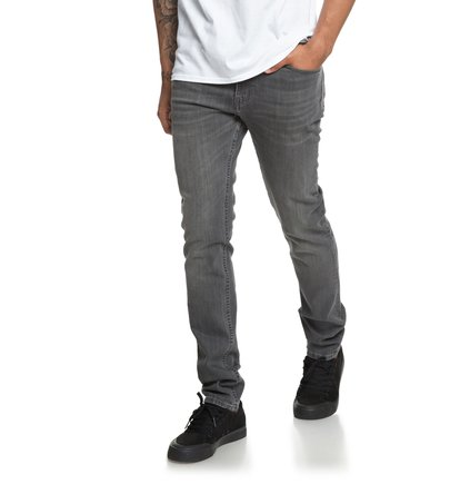Worker Medium Grey - Slim Fit Jeans for Men  EDYDP03373