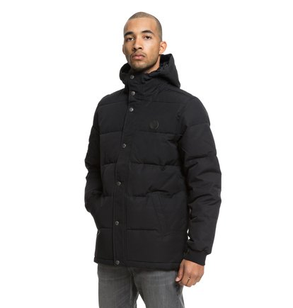 Aydon - Water-Resistant Hooded Puffer Jacket for Men  EDYJK03170