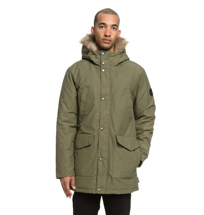 Bamburgh - Water-Resistant Hooded Parka for Men  EDYJK03171