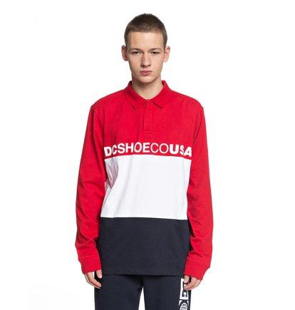 Stewardson - Long Sleeve Polo Shirt for Men  EDYKT03395
