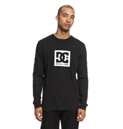 Square Star - Long Sleeve T-Shirt for Men  EDYZT03830