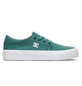 DC Shoes Trase TX, Zapatillas para Niños, Rojo (Dark Red DRK), 39 EU