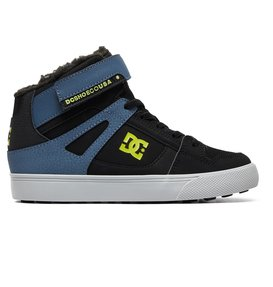 Pure WNT - Winterized Elastic-Laced High-Top Boots for Boys  ADBS300327