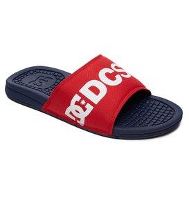 dc shoes Bolsa SP - Sandali Slider da Uomo - Black - DC Shoes Almacenista Geniue Barato sNVsjfa