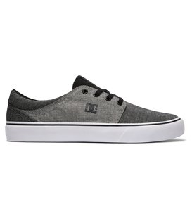 DC Trase TX M Shoe 3BK - Zapatilla Deportiva de Lona Hombre, Color Negro, Talla 39