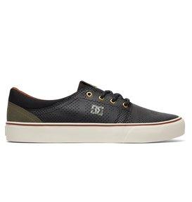 Dc Shoes Trase Slip-On Tx Se Zapatilla Sin Cordones, Color: Black/Tan, Talla: 44 EU / 10.5 US / 9.5 UK