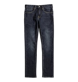 Worker Medium Stone - Skinny Fit Jeans for Boys 8-16  EDBDP03040