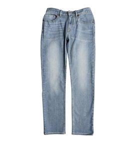 Worker Light Indigo Blue - Straight Fit Jeans  EDBDP03046