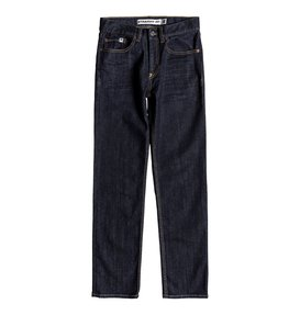 Worker Indigo Rinse - Straight Fit Jeans  EDBDP03050