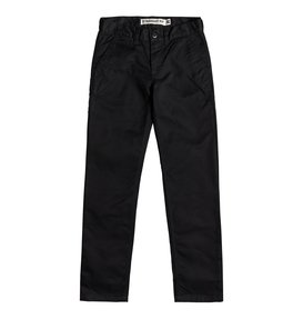 Worker - Straight Fit Chinos for Boys 8-16  EDBNP03022