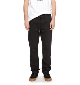Worker Black Rinse - Relaxed Fit Jeans for Men  EDYDP03337