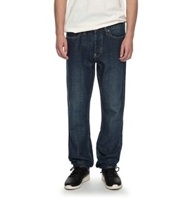 Worker Stone Wash - Straight Fit Jeans for Men  EDYDP03338
