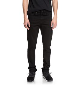 Worker Black Rinse - Slim Fit Jeans for Men  EDYDP03366
