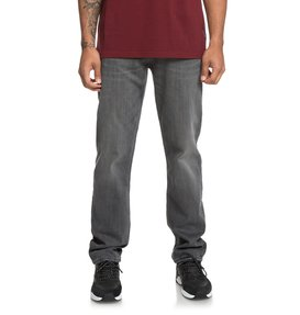 Worker Medium Grey - Relaxed Fit Jeans for Men  EDYDP03379