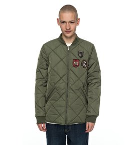 Hedgehope - Quilted Bomber Jacket  EDYJK03137
