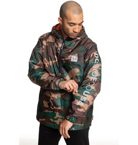 Bolam Camo - Water-Resistant Half-Zip Anorak for Men  EDYJK03184